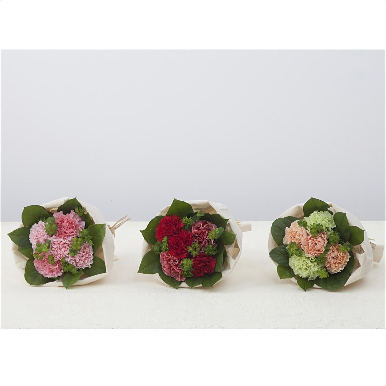 花を入れている器が再利用できる(ものもある)