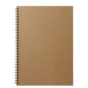 Planting Tree Paper Double Ring Notebook Bg B5 Ruled 48s