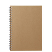 Planting Tree Paper Double Ring Notebook Bg A5 Ruled 48s