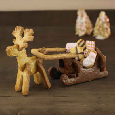 WILTON ジンジャーブレッドハウスキット Gingerbread House Kit [ お菓子の家 作成キット ]
