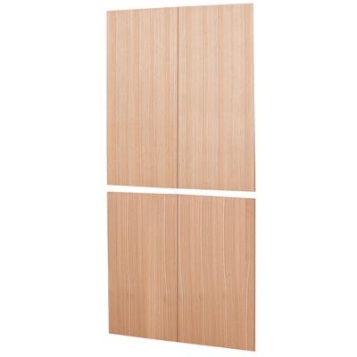 組み合わせて使える木製収納用木扉・ミドルタイプ用 ミドルタイプ用・4枚組