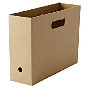 Cardboard File Box Half 5pcs Set A4