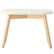 *beech Stool Oval Type / Cloth Seat