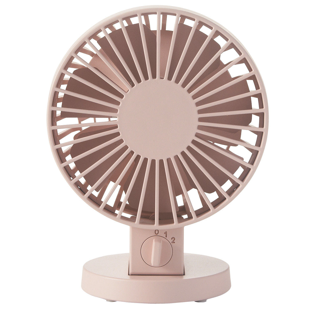 Usb Desk Fan Low Noise Pink