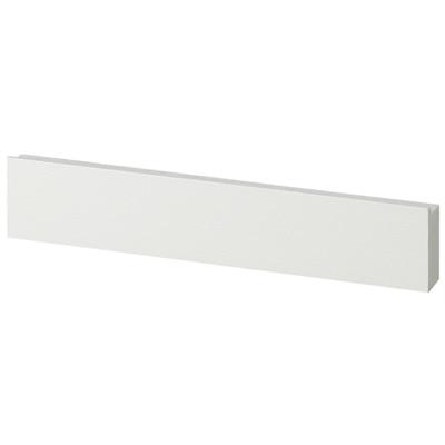 壁に付けられる家具・長押・幅44cm・タモ材/ライトグレー/幅44×奥行4×高さ9cmの写真
