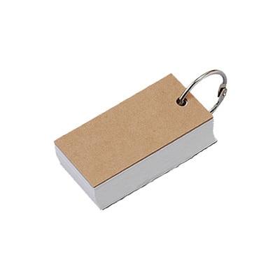 再生紙単語カード/(V)100枚