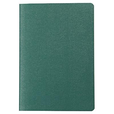 再生紙パスポートメモ 5mm方眼・125×88mm・24枚・緑