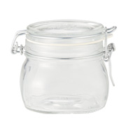 Sealed Storage Glass Jar