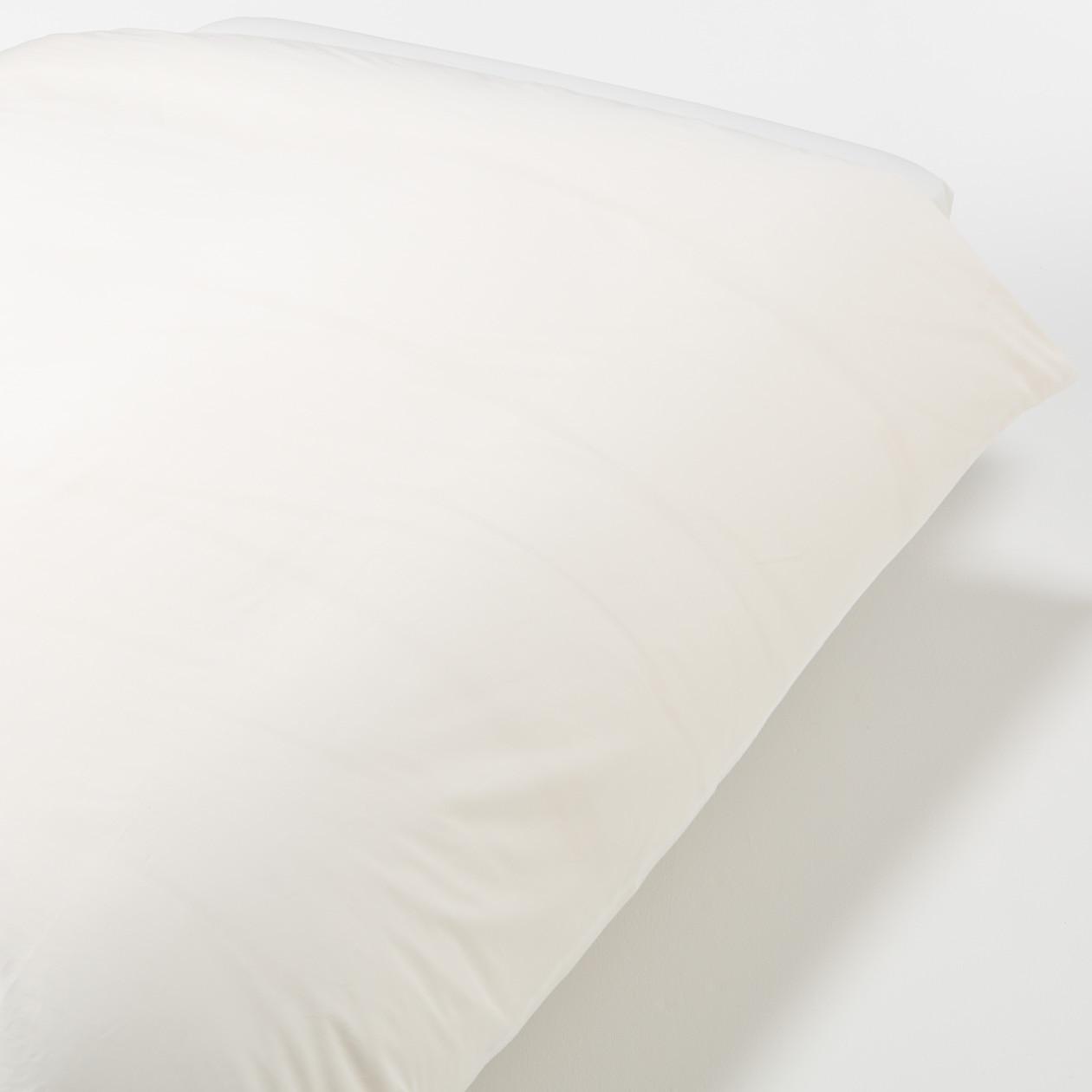 Ind Ct H Density Satin Hotel Use Duvet Cover S O Wht 150
