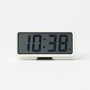 Digital Clock M With Alarm White