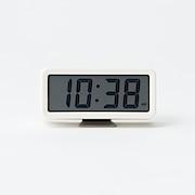 Digital Clock S With Alarm White