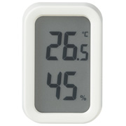 Digital Thermo-hygrometer White
