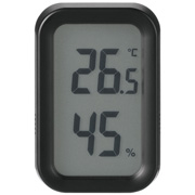 Digital Thermo-hygrometer Black