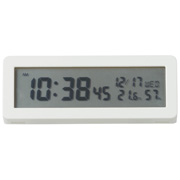 Digital Clock With Loud Alarm Wht S15