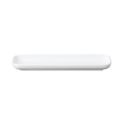 白磁長角皿・大 約22.4×6.7×高さ2.5cm