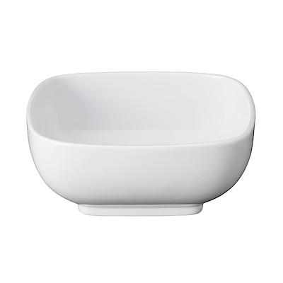 白磁角鉢・大 14.5×14.5×高さ5.9cm
