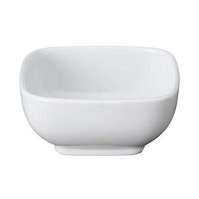 白磁角鉢・小 8×8×高さ3.7cm