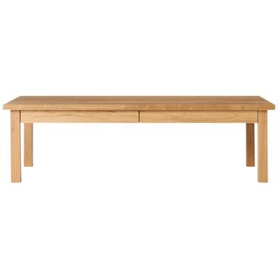 無垢材ローテーブル・オーク材・120×60cm 幅120×奥行60×高さ35cm