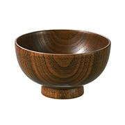 Lacquer Ware Soup Bowl L A15