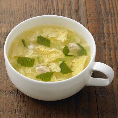 食べるスープ たまごとみぶ菜のスープ 4食