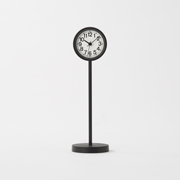 Park Clock Mini With Stand Blk