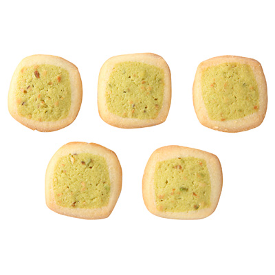 ピスタチオとバニラのクッキー