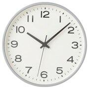 Analog Clock L Silver