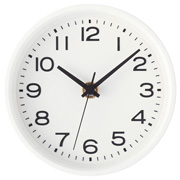 Analog Clock S White