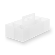 Pp Carry Box Wide A4 Clear