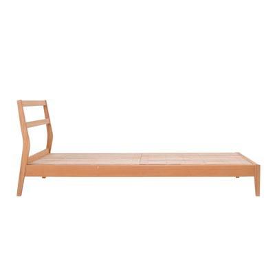 無印良品MUJI 木製ローテーブル 引出付 w90cm タモ材
