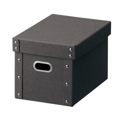 硬質パルプボックス・フタ式・深型ハーフ/約幅18×奥行25.5×高さ16cmの写真