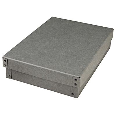 硬質パルプボックス・フタ式・浅型/約幅25.5×奥行36×高さ8cmの写真