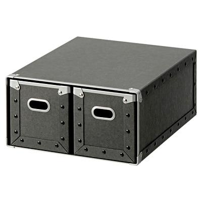 硬質パルプボックス・CD用・ワイド/約幅30×奥行36×高さ16cmの写真