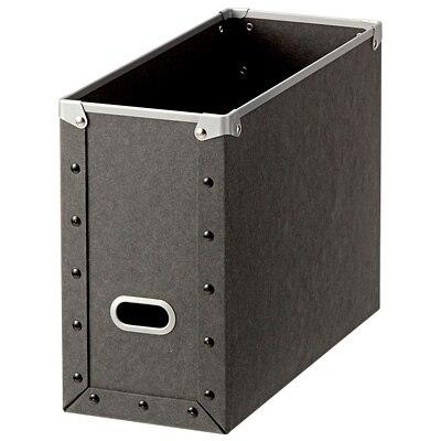 硬質パルプ・ファイルボックス/約幅13.5×奥行32×高さ24cmの写真