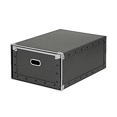 硬質パルプボックス・引出式・深型/約幅25.5×奥行36×高さ16cmの写真