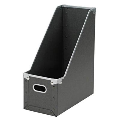 硬質パルプスタンドファイルボックス/約幅13.5×奥行27×高さ32cmの写真