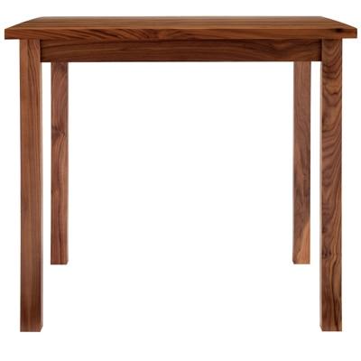 無垢材テーブル・ウォールナット材・幅80cm 幅80×奥行80×高さ72cm