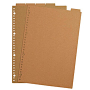 Recycled Paper Refill Index A4 30h 5index