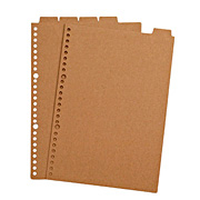 Recycled Paper Refill Index B5 26h 5index