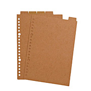 Recycled Paper Refill Index A5 20h 5index
