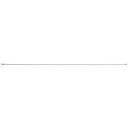 スチールアジャスターポール・細・L/オフ白/120~200cm■外径:1.3cmの商品画像