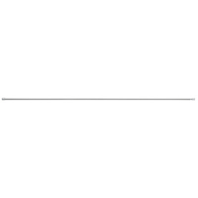 スチールアジャスターポール・細・L/シルバー/120~200cm■外径:1.3cmの写真