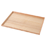 Wooden Tray Square 40.5x30.5cm