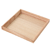 Wooden Tray Square 14x14cm
