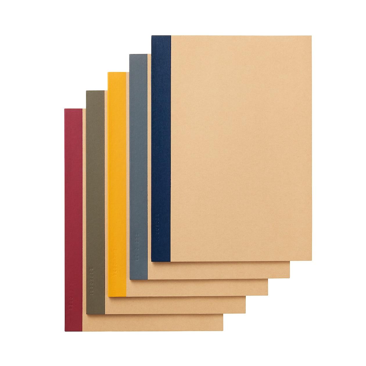 植林木ペーパー裏うつりしにくいノート5冊組