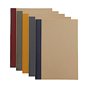 Planting Tree Paper Notebook 5pcs/set A5 Ruled 30s
