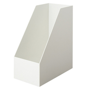 Pp Stand File Box A4 Wide Wht