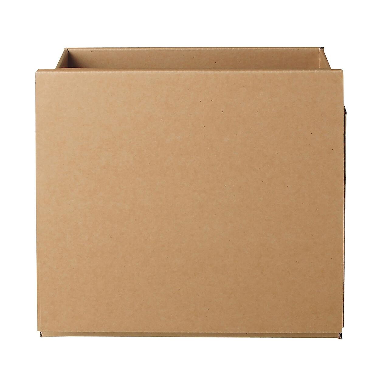 pulp board box cardboard box w34 d27 h34cm muji