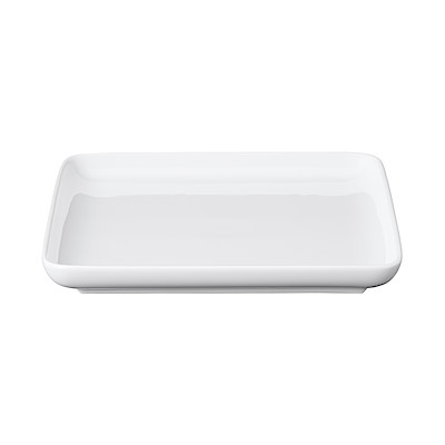白磁正角皿・大 約18x18×高さ2cm