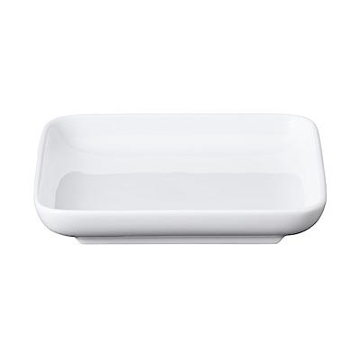 白磁正角皿・小 約12x12×高さ2cm